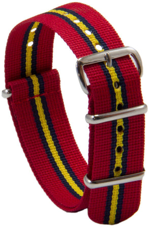 "Royal Artillery ""Stable Belt"" G10 Watch Strap - regimentalshop.com"