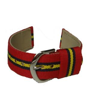 "Royal Artillery ""Stable Belt"" Two Piece Watchstrap"