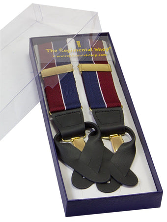 Queen's Dragoon Guards Braces - regimentalshop.com