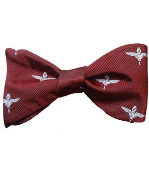 1 Parachute Regiment Silk (Self Tie) Bow Tie - regimentalshop.com