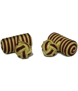 King's Royal Hussars Barrel Cufflinks - regimentalshop.com
