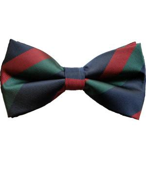 Black Watch Polyester (Pretied) Bow Tie