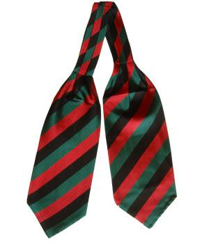Yorkshire Regiment Silk Non Crease Cravat - regimentalshop.com