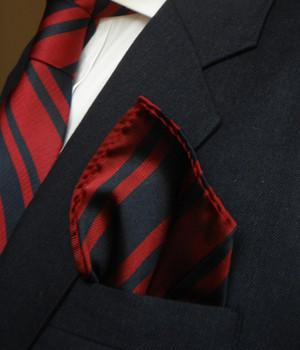 Royal Engineers Silk Pocket Square - regimentalshop.com