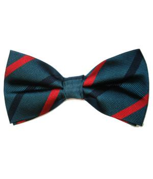 Royal Green Jackets Silk (Pretied) Bow Tie
