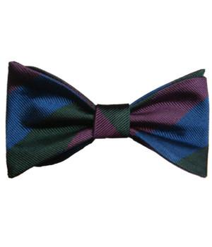 Royal Regiment of Scotland Silk (Self Tie) Bow Tie - regimentalshop.com