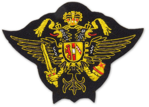 1st Queen's Dragoon Guards Blazer Badge