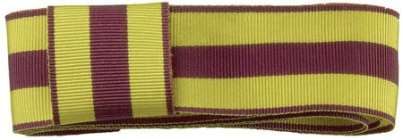 9th/12th Royal Lancers Ribbon for any brimmed hat - regimentalshop.com