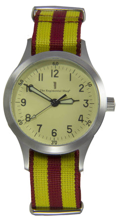 "9th/12th Royal Lancers ""Decade"" Military Watch - regimentalshop.com"