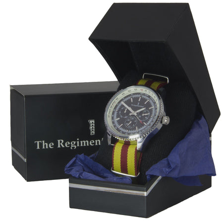 9th/12th Royal Lancers Military Multi Dial Watch - regimentalshop.com