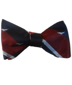"Royal Air Force ""Albatross"" Silk (Self Tie) Bow Tie"