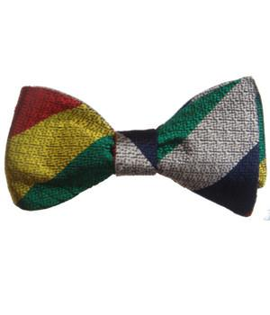 RLC Officers' Club Silk Non Crease (Self Tie) Bow Tie