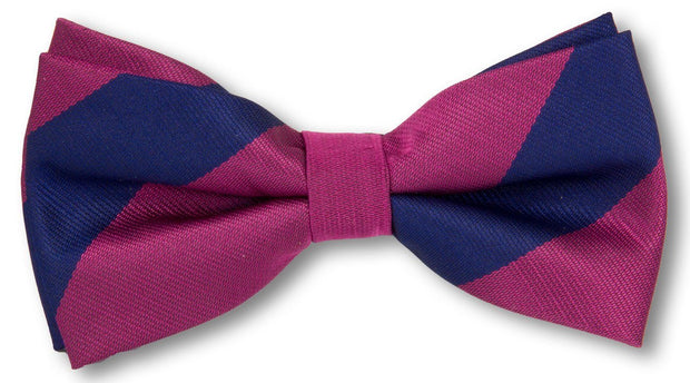 Royal Welch Fusiliers Polyester (Pretied) Bow Tie - regimentalshop.com