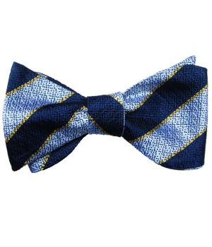Queen's Regiment Silk Non Crease (Self Tie) Bow Tie - regimentalshop.com