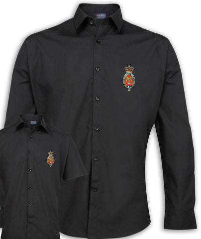 Blues and Royals Regimental Poplin Shirt - Short or Long Sleeves