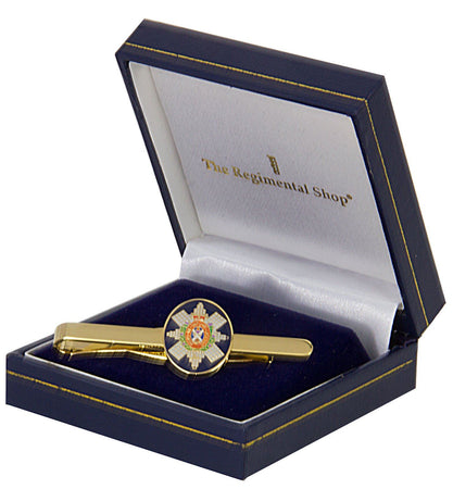 Black Watch Gilt Enamel Tie Clip - regimentalshop.com