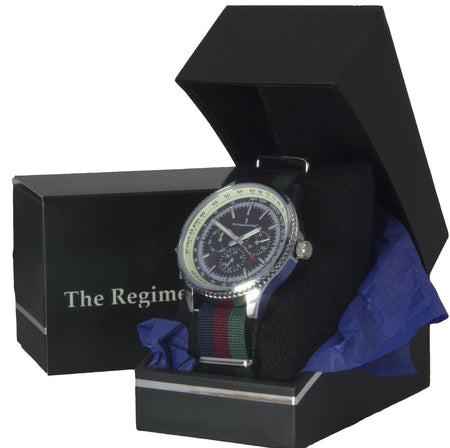 Black Watch Military Multi Dial Watch - regimentalshop.com