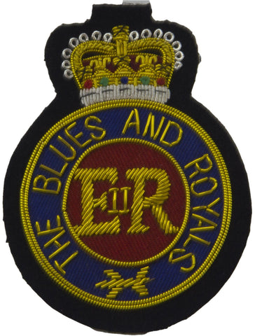 "The Blues and Royals ""Round"" Blazer Badge"