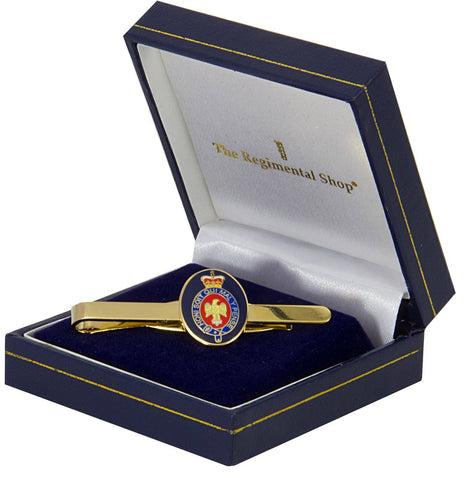 Blues and Royals Gilt Enamel Tie Clip