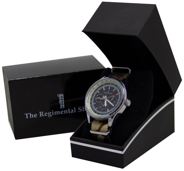 Combat Camouflage Military Multi Dial Watch - regimentalshop.com