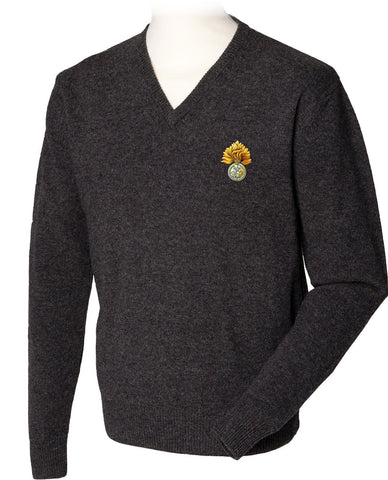 Royal Regiment of Fusiliers Pure Lambswool Jumper