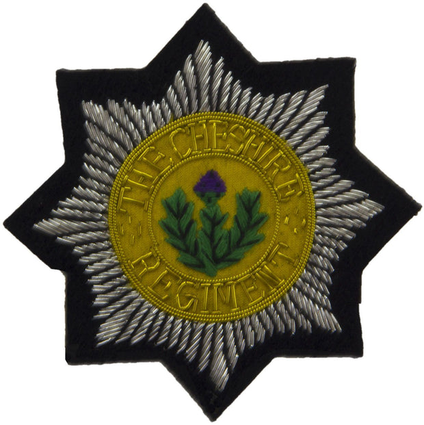 Cheshire Regiment Blazer Badge - regimentalshop.com