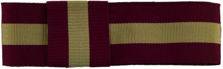 Cheshire Regiment Ribbon for any brimmed hat - regimentalshop.com