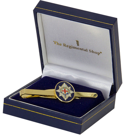 Coldstream Guards Gilt Enamel Tie Clip - regimentalshop.com
