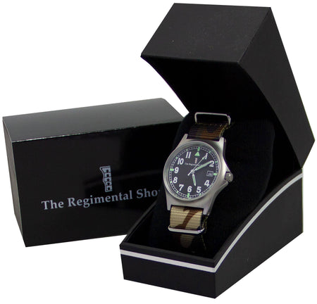 G10 Military Watch with Combat Camouflage Watch Strap - regimentalshop.com