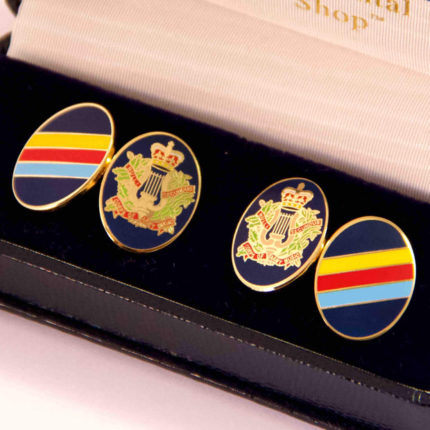 Corps of Army Music Cufflinks - regimentalshop.com