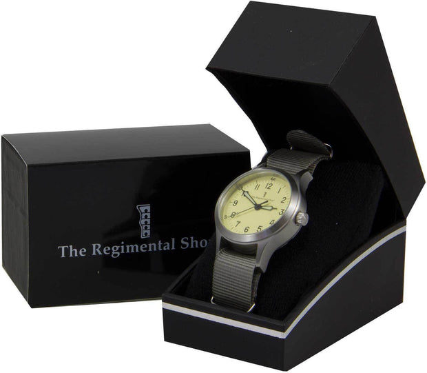 "Military Olive Green ""Decade"" Military Watch - regimentalshop.com"