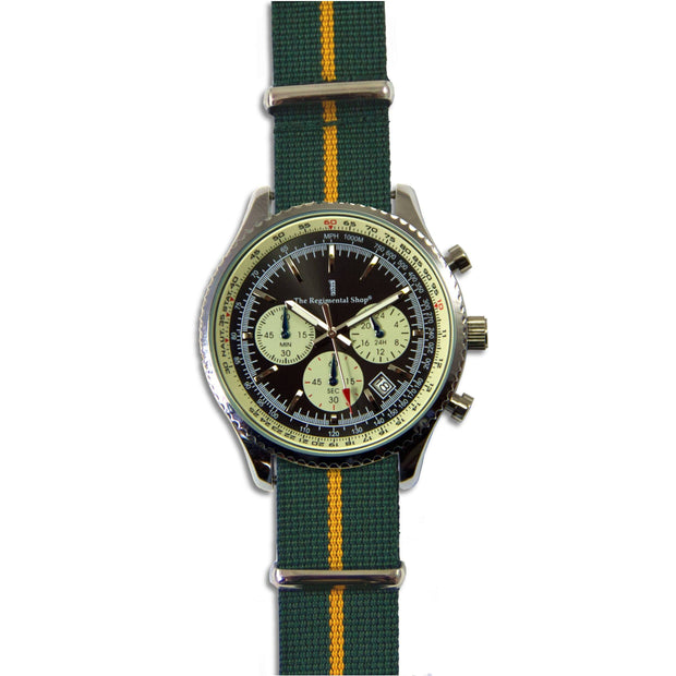 Devonshire and Dorset Regiment Military Chronograph Watch - regimentalshop.com