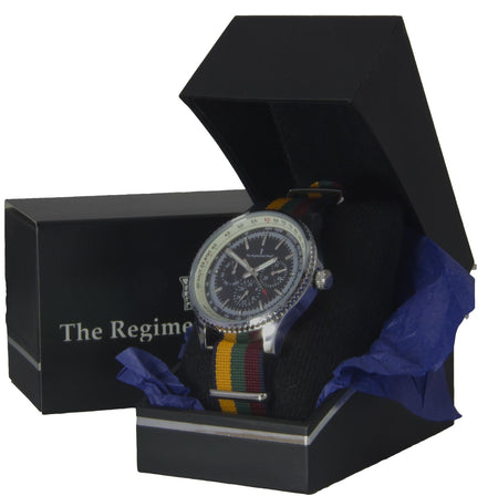 Duke of Lancaster's Regiment Military Multi Dial Watch - regimentalshop.com
