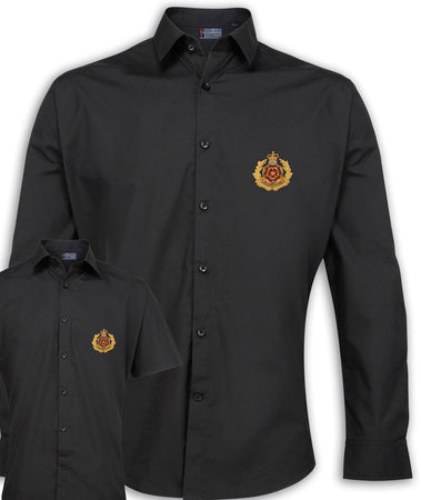 Duke of Lancaster's Regimental Poplin Shirt - Short or Long Sleeves