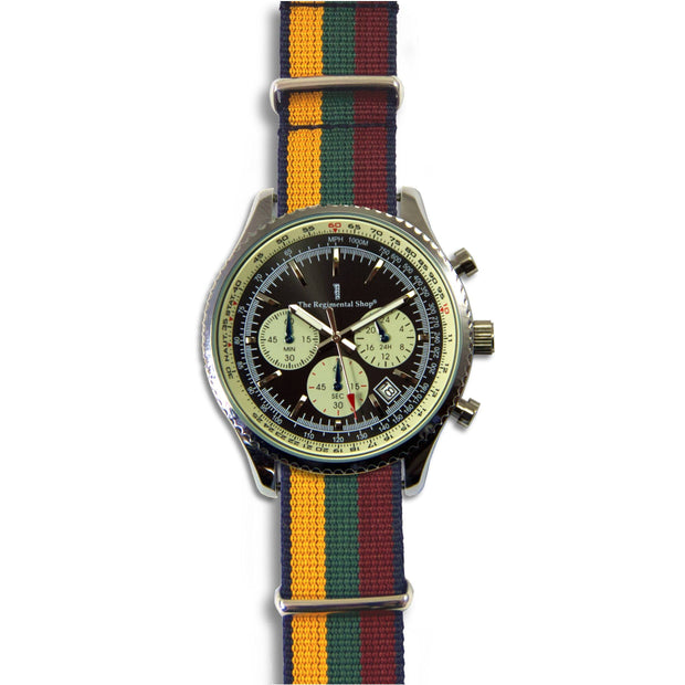 Duke of Lancaster's Regiment Military Chronograph Watch - regimentalshop.com