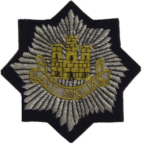 East Anglian Regiment Blazer Badge - regimentalshop.com