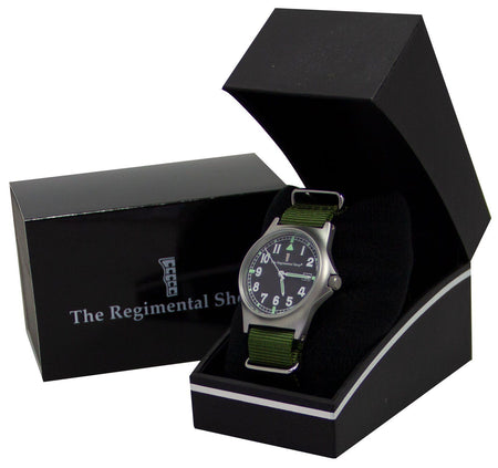 G10 Military Watch with Military Olive Green Watch Strap - regimentalshop.com