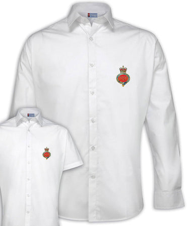 Grenadier Guards Regimental Poplin Shirt - Short or Long Sleeves