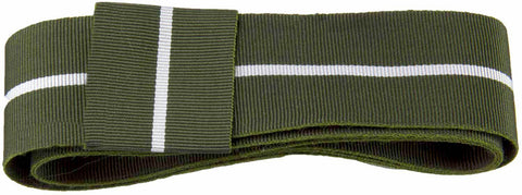 Green Howards Ribbon for any brimmed hat