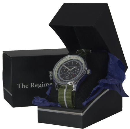 Green Howards Military Multi Dial Watch - regimentalshop.com