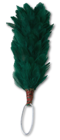 Green Military Hackle (Royal Irish Regiment) - regimentalshop.com