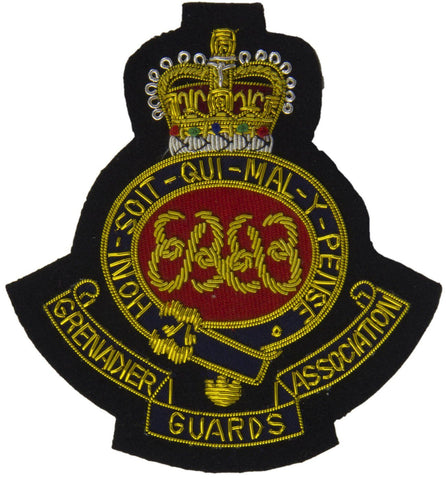 Grenadier Guards Association Blazer Badge - regimentalshop.com