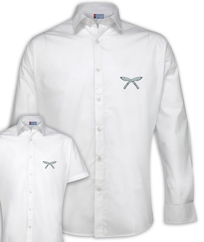 Gurkhas Regimental Poplin Shirt - Short or Long Sleeves
