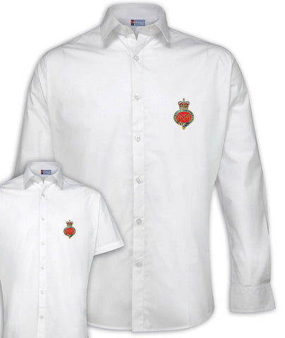 Household Cavalry Regimental Poplin Shirt - Short or Long Sleeves