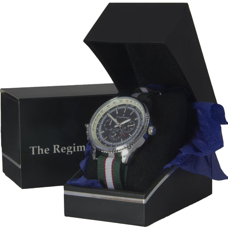 Intelligence Corps Military Multi Dial Watch - regimentalshop.com