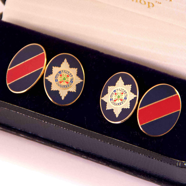 Irish Guards Cufflinks - regimentalshop.com