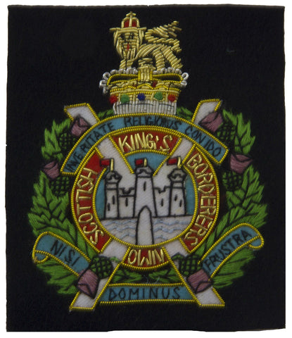 King's Own Scottish Borderers Blazer Badge - regimentalshop.com