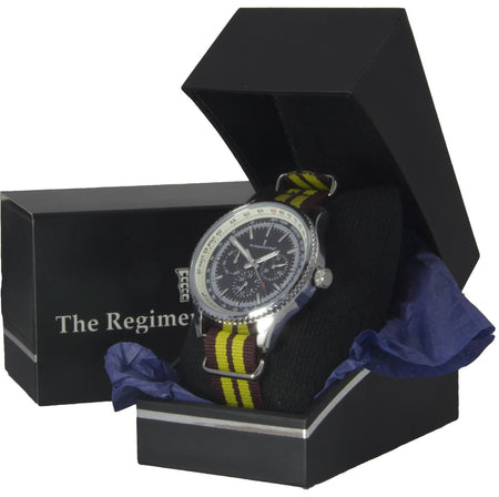 King's Royal Hussars Military Multi Dial Watch - regimentalshop.com