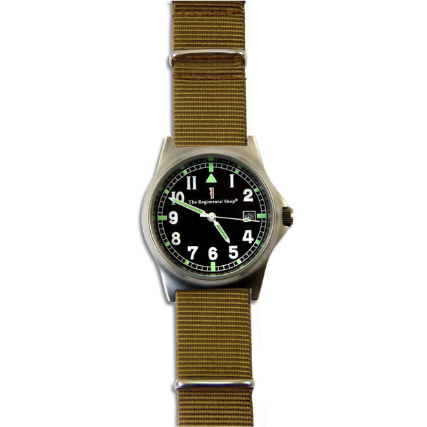 G10 Military Watch with Khaki Watch Strap - regimentalshop.com