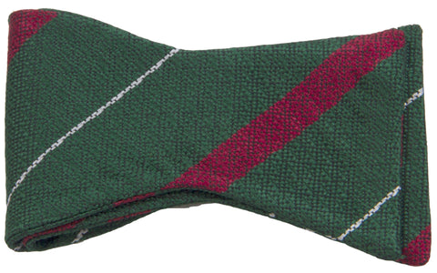 Light Infantry Silk Non Crease Self Tie Bow Tie